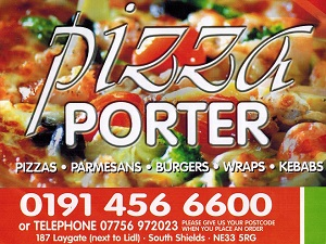 Pizza Porter In South Shields