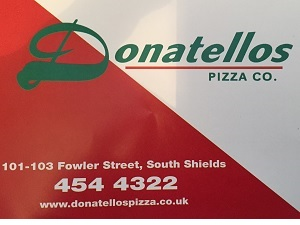 Donatellos Pizza in South Shields